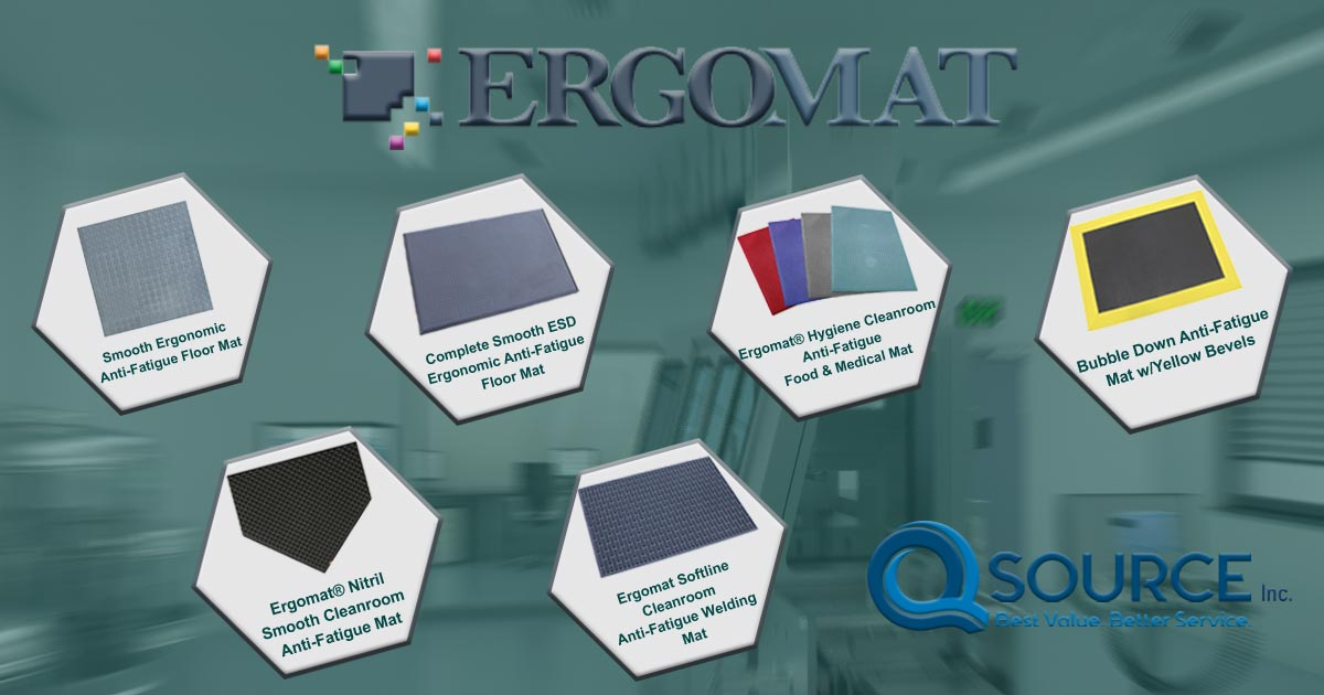 New Products from Ergomat