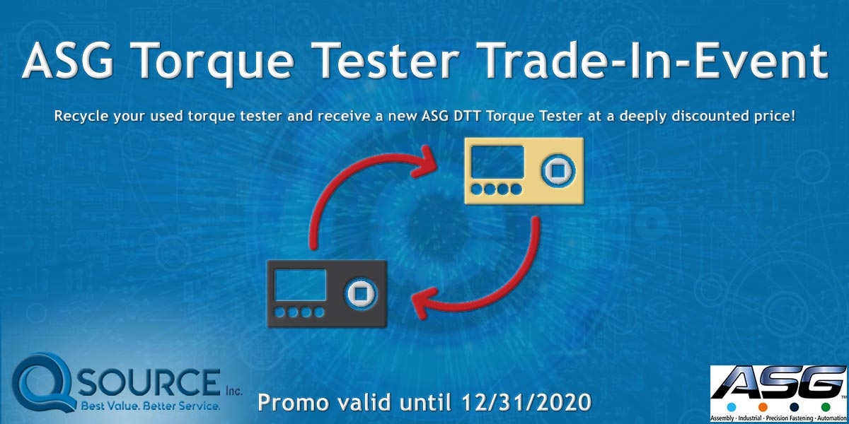 ASG Torque Tester Trade-In-Event